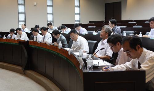 策略聯盟會議各與會代表